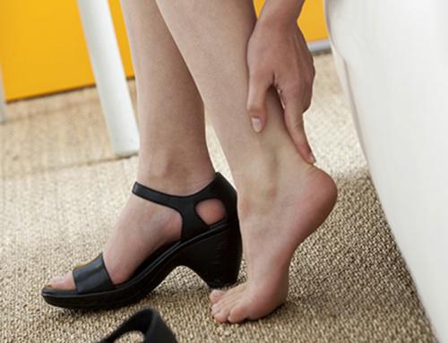 Befreien Sie Ihre Füsse von Fersensporn